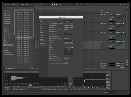 Dark Eye Theme Theme for Ableton 10 by pierre