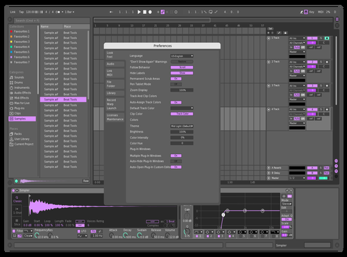 Lilla gang Theme for Ableton 10 by kristo