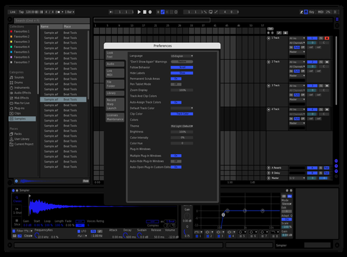 Bluie Theme for Ableton 10 by Jack Stanley