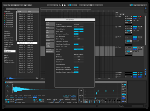 Logic Luk3 Theme for Ableton 10 by Luk3Music