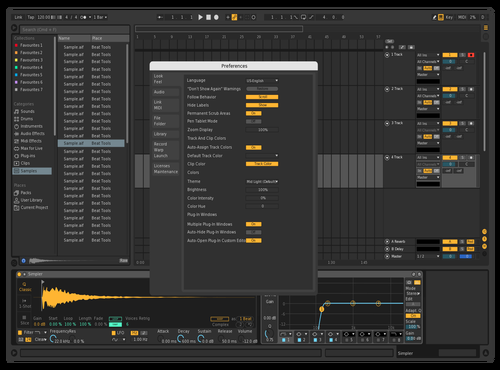 Dark Mode Alt Theme for Ableton 10 by Resonant Language