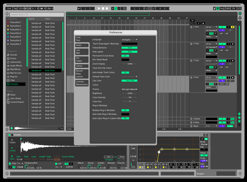 COOL Theme for Ableton 10 by Laurence Ward