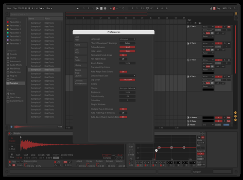 Redboy Theme for Ableton 10 by thorbear