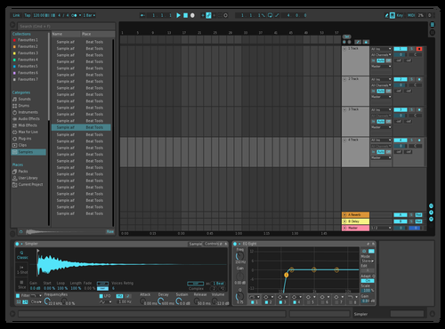 Fixed Dark Theme for Ableton 10 by Ivan