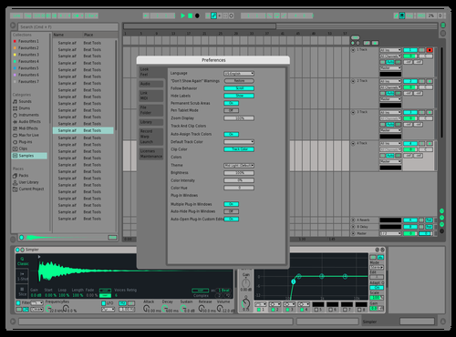 Minteal Theme for Ableton 10 by ty