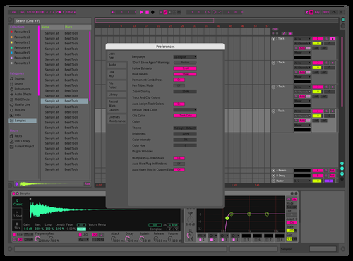 LZ TEMA LIVE GANG Theme for Ableton 10 by guilherme luz
