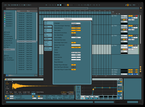 Migcraft style Theme for Ableton 10 by Riccardo