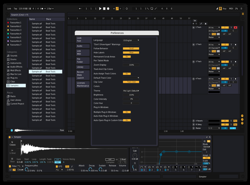 Complete Dark Theme for Ableton 10 by ush