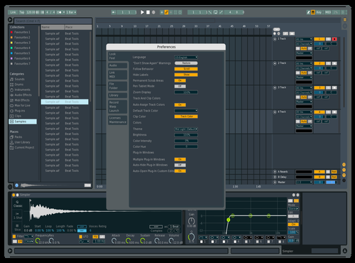 FL MOD Theme for Ableton 10 by EDBL