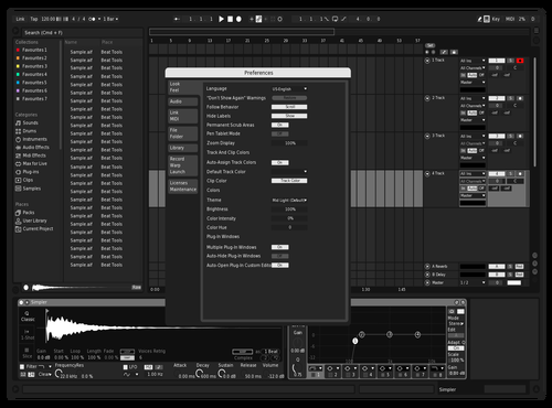 YingYang V1 Theme for Ableton 10 by Raúl