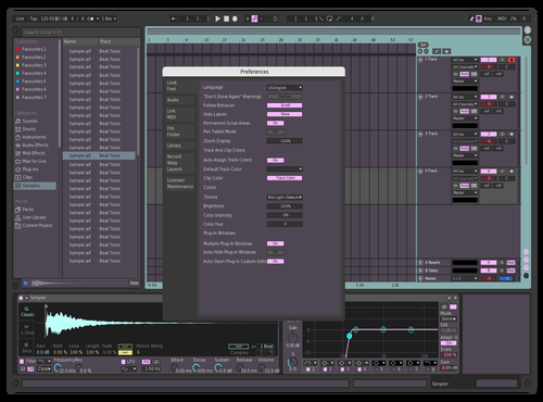 Cottoncandy Theme for Ableton 10 by Patrick Sullivan