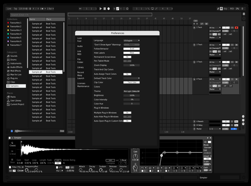 Black And White 2020 Theme for Ableton 10 by nitin