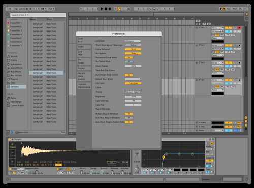 DEF2020W Theme for Ableton 10 by david
