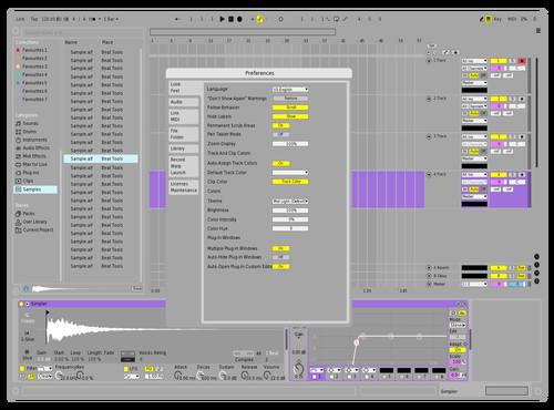 Grey Theme for Ableton 10 by Dipu Hoque