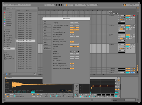 Just4test Theme for Ableton 10 by IVAN FREI