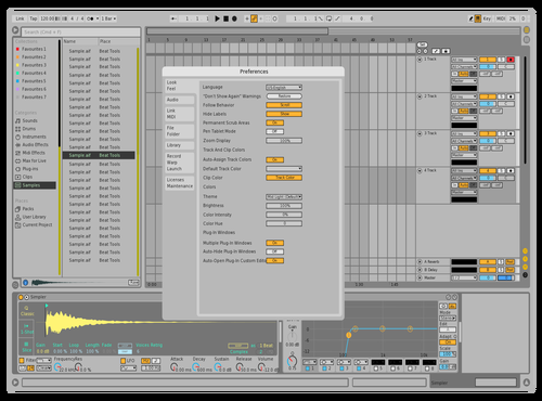 Experimental Light Theme for Ableton 10 by fil