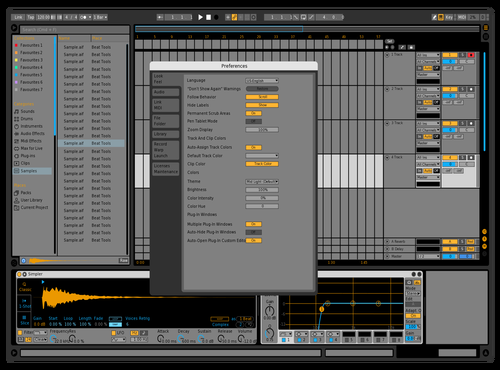 Gray Scale Theme for Ableton 10 by Paul Matthew