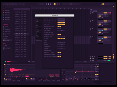 GBR Neo 20.01.20(1) Theme for Ableton 10 by Danielkain