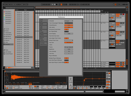 Bitwig but nicer 17 Theme for Ableton 10 by Michael Nielsen