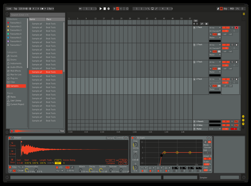 808 Theme for Ableton 10 by Ableton Themes