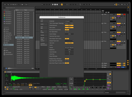 MIKS Theme for Ableton 10 by AGUNG PUTRANTO