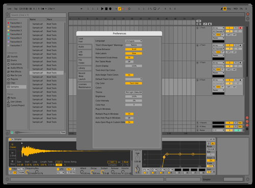 HS82 Theme for Ableton 10 by harris