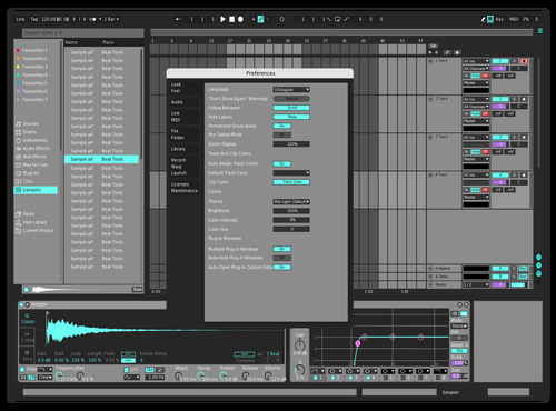 Grau Theme for Ableton 10 by Atreo