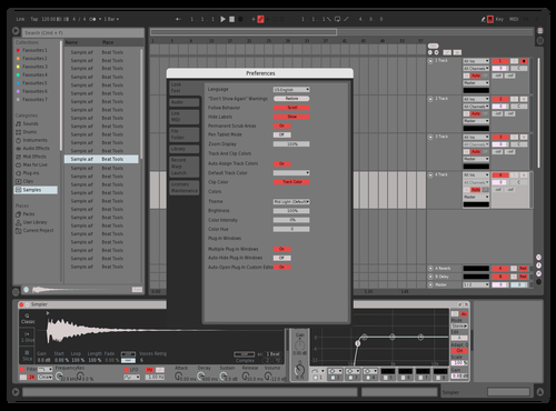 9 soft Theme for Ableton 10 by al