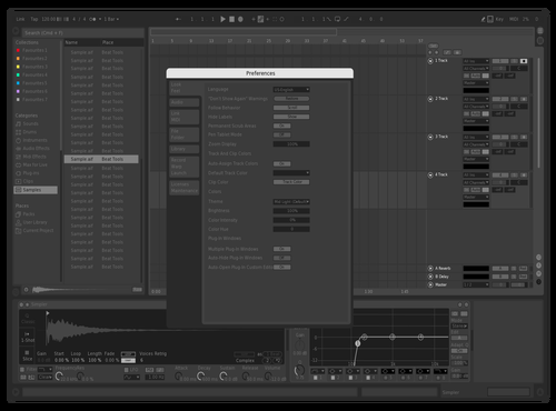 闇 Theme for Ableton 10 by DVLSPLY