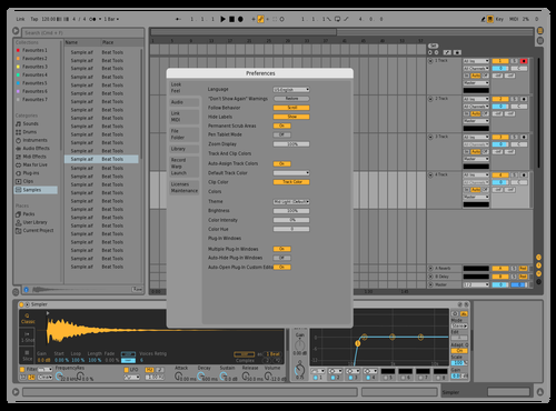 Default Theme for Ableton 10 by Dency