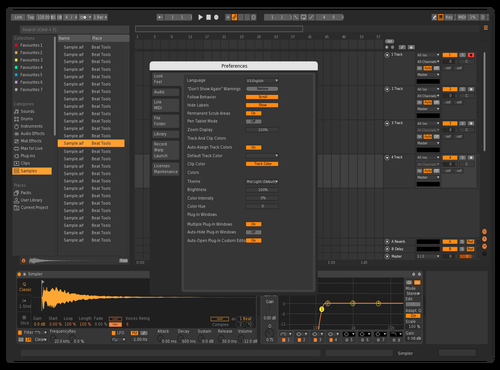 Q1 Theme for Ableton 10 by studio.hs.design@gmail.com