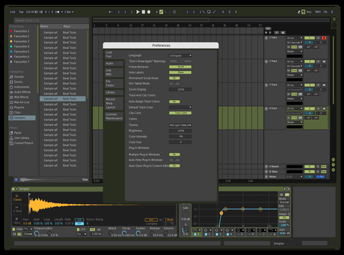 Olive Green Theme for Ableton 10 by Ann