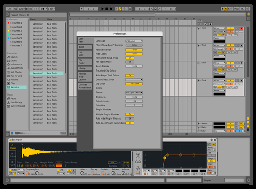 ABLT9EXP Theme for Ableton 10 by zebebop