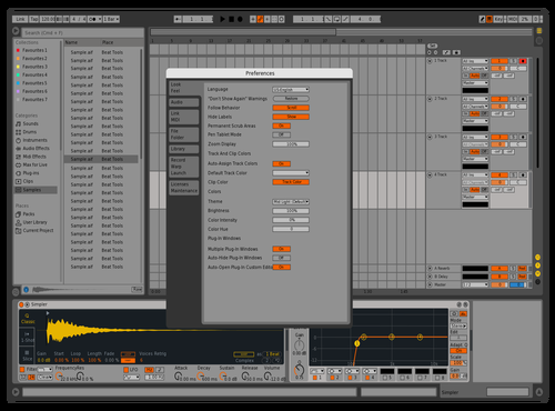 Old Theme for Ableton 10 by CryoniK