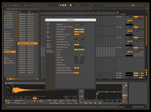 Pornhub1 Theme for Ableton 10 by Andreev