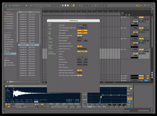 Direct's Logic Pro X v1 Theme for Ableton 10 by direct