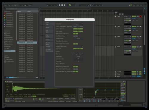 Workstation Theme for Ableton 10 by Kristian
