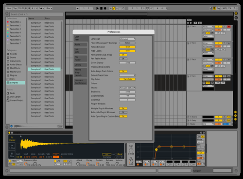 BLACK AND WHITE Theme for Ableton 10 by KHALILSABHA
