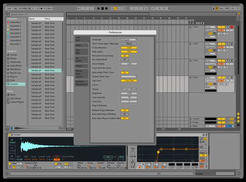 Anotherlive9 Theme for Ableton 10 by david