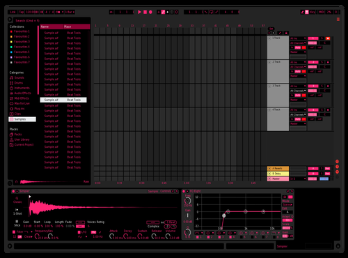 Magenta Theme for Ableton 10 by MCG