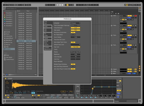 Ediosn Theme for Ableton 10 by ediosn