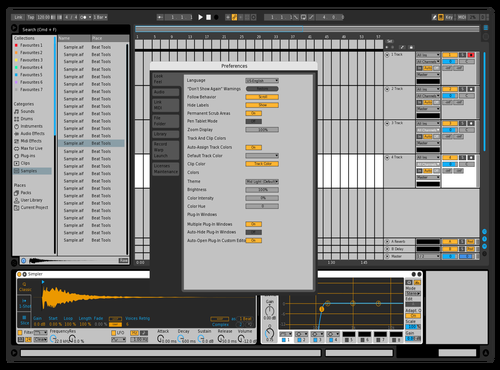 Gray Scale 1 Theme for Ableton 10 by Paul Matthew