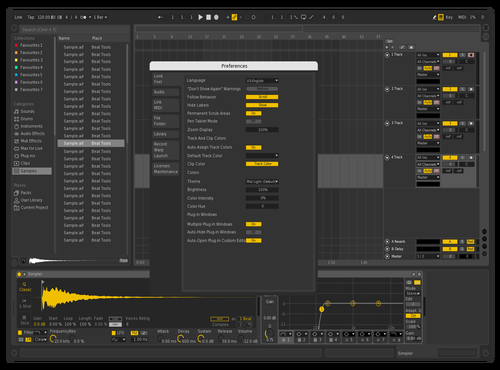 Grey Theme for Ableton 10 by SARBN