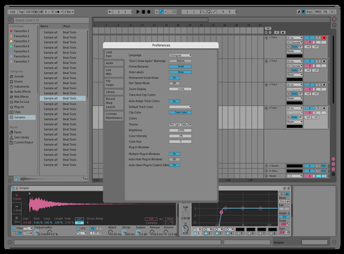 Pinky Theme for Ableton 10 by sam