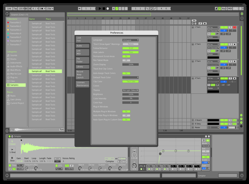 Mint and grey Theme for Ableton 10 by dan