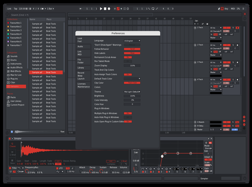 Cool Red Theme for Ableton 10 by Peter Polizos