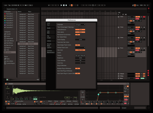 Ition edit Theme for Ableton 10 by Agrest