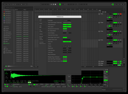 Spotify Remix Theme for Ableton 10 by Iker Flores