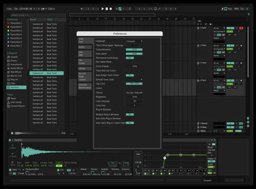 Seafoam v2 Theme for Ableton 10 by Kaijo