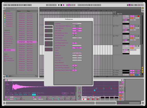 Onix Theme for Ableton 10 by Kaix